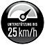 Ikona 25 kmh