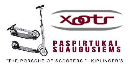 Xootr reklama