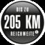 elektrinis dviratis 205 km