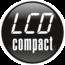 elektrinis dviratis LCD compact ekranas