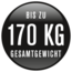 elektrinis dviratis XXL iki 170 kg