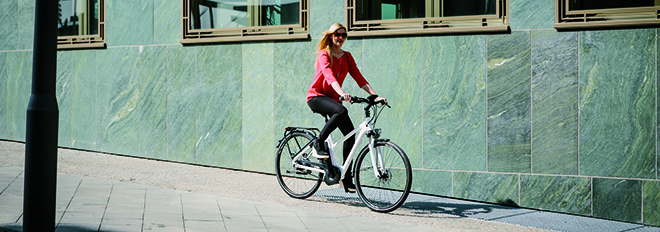 elektrinis dviratis mieste1