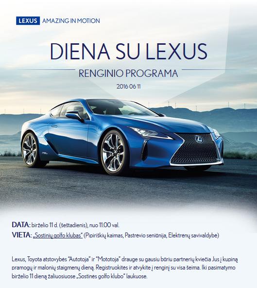 Diena su Lexus