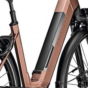 elektrinis dviratis integruota baterija